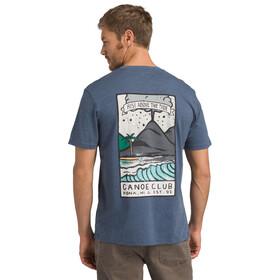Prana KonaZona T-shirt Herrer, denim heather